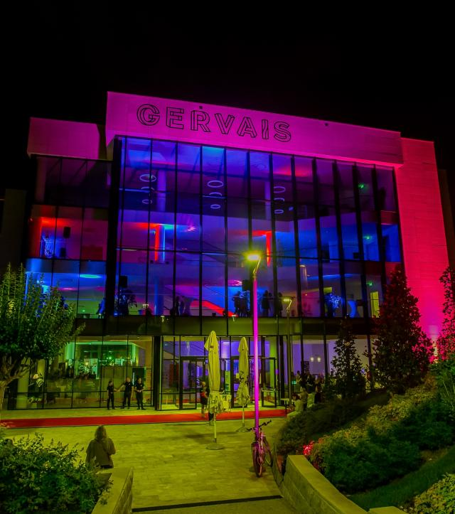 Gervais center - main festival venue