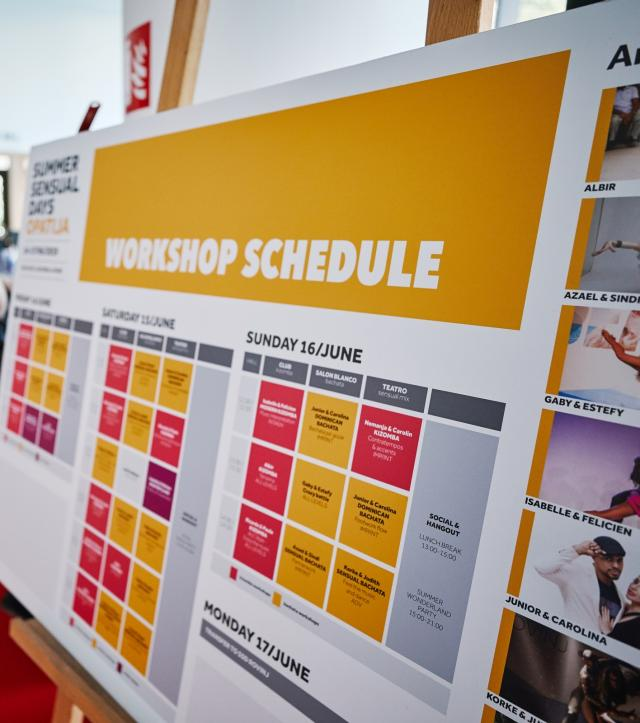 Our workshop approach & Schedule